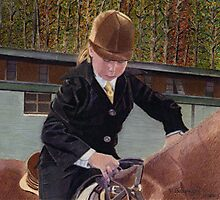 Remember When... Horse and Child Painting Photographic Print