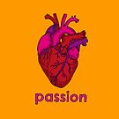 * Passion * Peace * Protection * A Wish For A T-Shirt: Passion by cectimm