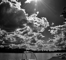Sunshine over Condamine by tracielouise