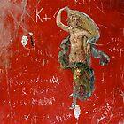 Fresco and Graffiti, Pompeii by Malcolm Clark