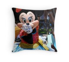 Soundsational Minnie Mouse Throw Pillow