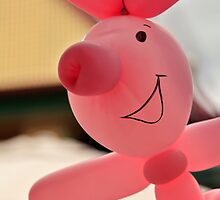 Miss Donna's Balloon Art - Piglet by Sea-Change