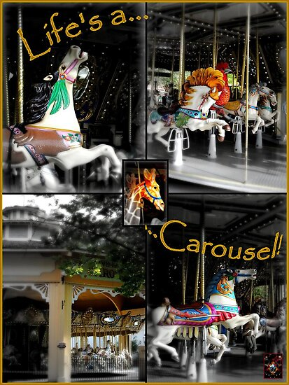 life's a carousel! by bangonthedrums