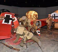WW1, plane destroyed, diorama by bazcelt