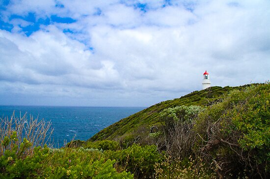 Cape Schank Lighthouse by Bevlea Ross