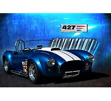 Blue Cobra Photographic Print