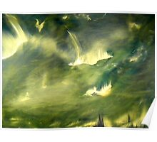 Cosmic eruptions Poster