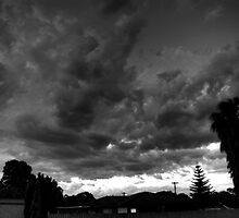 Storm over Perth by BigAndRed