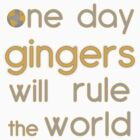 One day gingers will rule by Jason Frayling