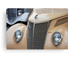 Pair of Fords Canvas Print