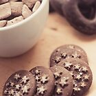 Chocolate biscuits and more chocolate sweets by Patrizia  Corriero