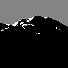 Mountain silhouette by astr0nomer