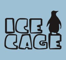Ice Cage Penguin by Lorie Warren