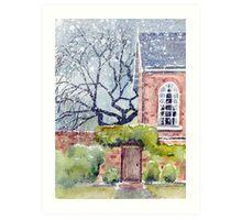 The Poplars Art Print