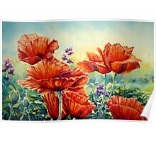 The Cottage Garden Poster