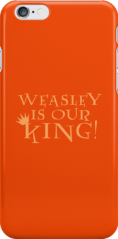 Weasley Is Our King! by flyingpantaloon