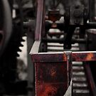Red Old Mill Machine by HeavenOnEarth