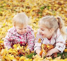 Autumn Princesses by Julie Thomas