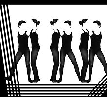 Line Dancers by CarolM