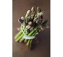 Asparagus Photographic Print
