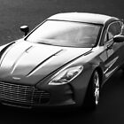 Aston Martin One-77  by Nick Egglington