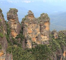 Three Sisters Blue Mountains by willbill