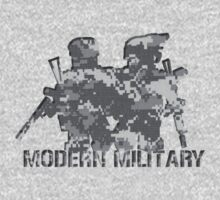 Modern Military digital camo  by Shobrick