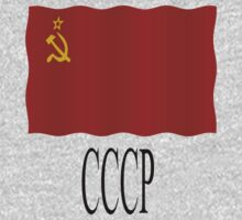 Soviet flag by stuwdamdorp