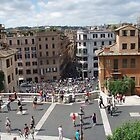 The Top of the Spanish Steps by nauruking