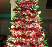 Christmas Tree dressed in green  by FrankSchmidt
