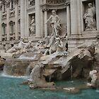 Trevi Fountain by nauruking