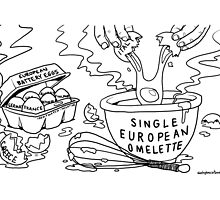 Single European Omelette by Alex Hughes