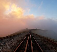 Clogwyn Station, Snowdon Mountain Railway. by johnfinney