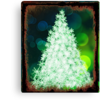Bokeh Christmas. Canvas Print