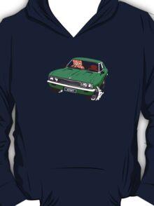 Vauxhall Victor.  Tiki Driver. Kiwi Plates T-Shirt