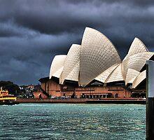 Opera House on a rainy day by andreisky