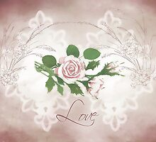 Love Card  by Sandra Foster