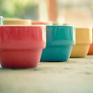 Rainbow Mugs by Wendy Tienken