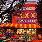 The XXX Root Beer Barrel by Dale Lockwood