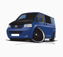 VW T5 (A) Blue by Richard Yeomans