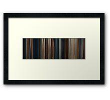 Moviebarcode: Thor (2011) Framed Print