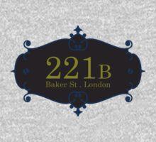 221B Baker St Kids Clothes