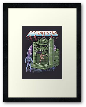 Inflatable Castle Grayskull Jumper by Griggitee