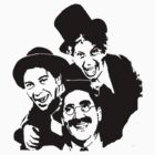 marx brothers t-shirts by parko