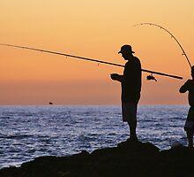 Fishing Buddies by Randy Richards