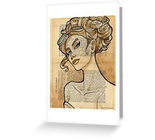 Iron Woman 5 Greeting Card