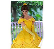 Belle at Hong Kong Disneyland. Poster