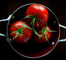 Homegrown Tomatoes  by Angi Allen