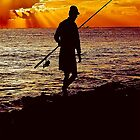 GONE FISHIN' - IPHONE by Scott  d'Almeida