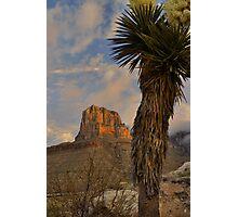 El Capitan At Sunrise - Guadalupe Mountains Photographic Print